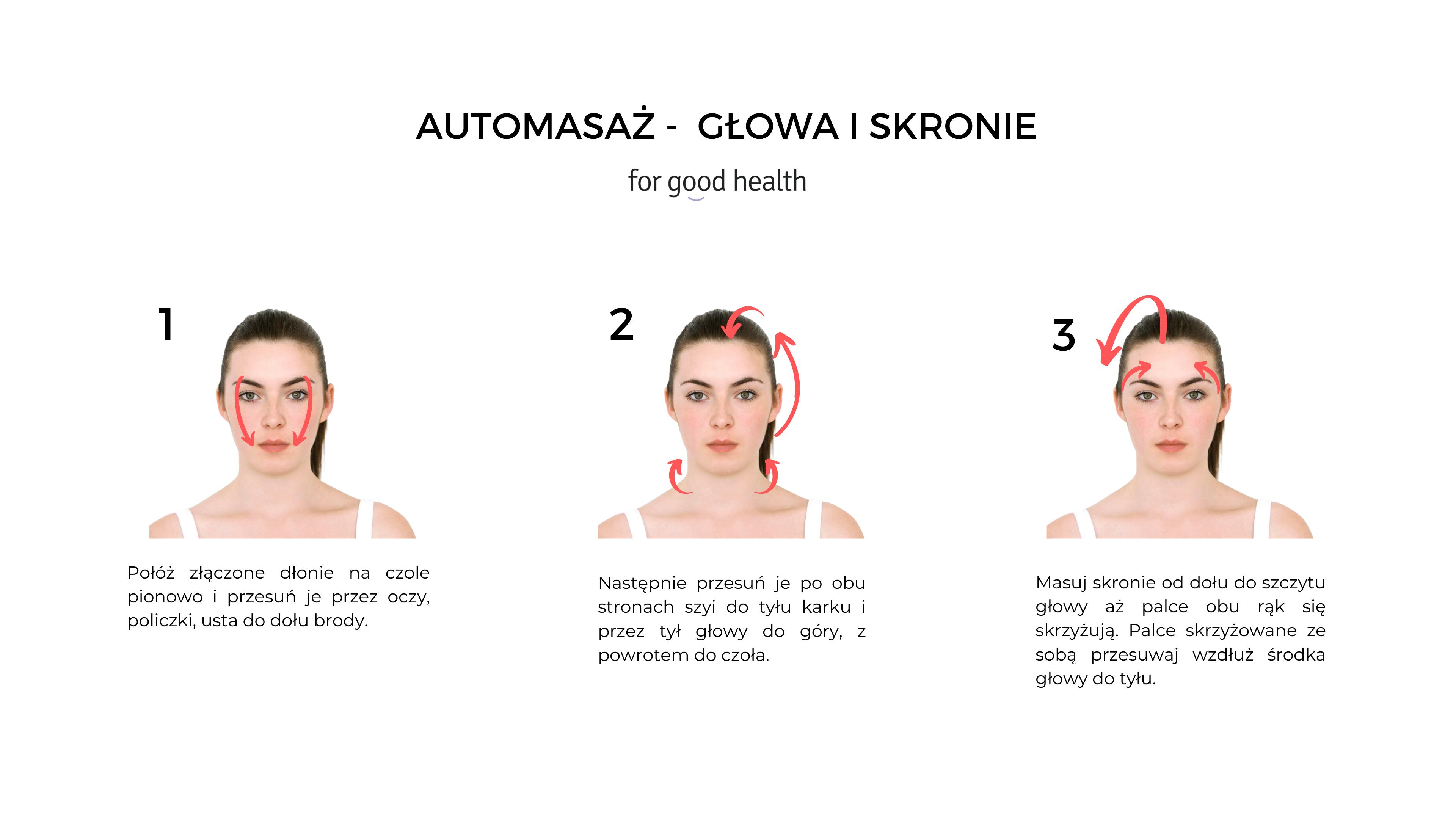 masaż skroni igłowy instrukcja
