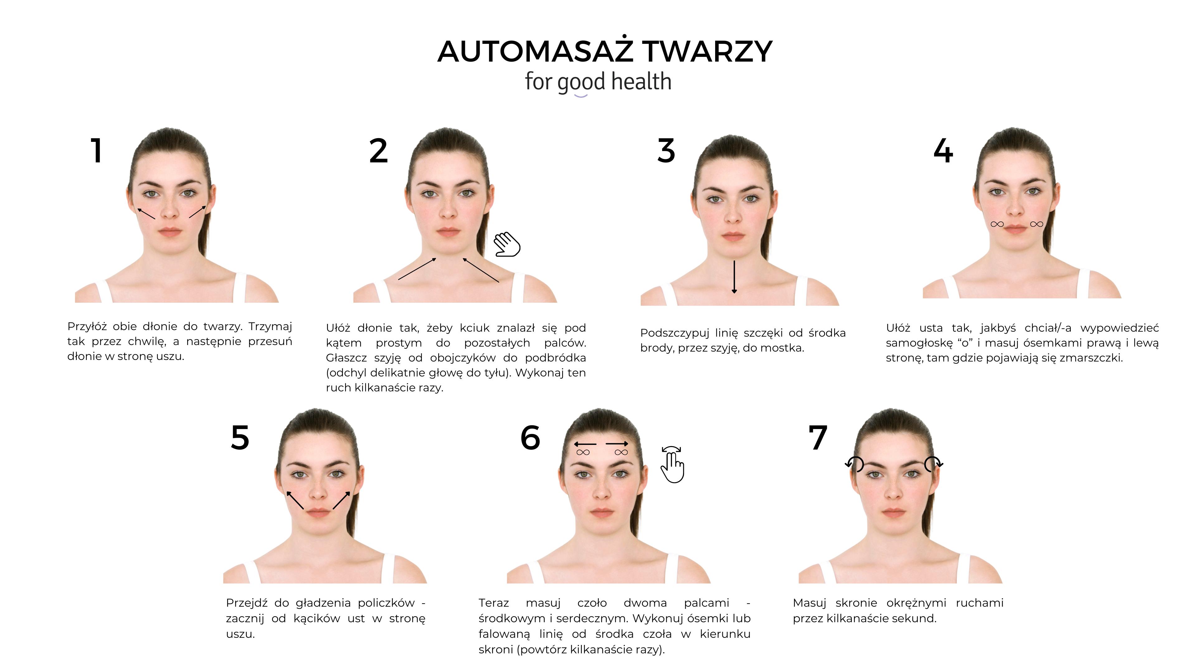 masaż twarzy instrukcja