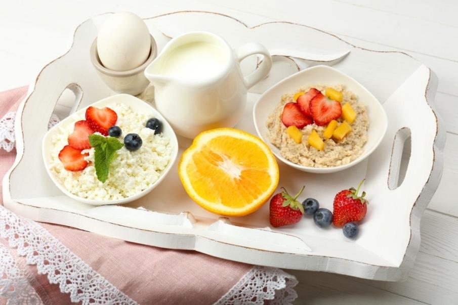 śniadanie przed pracą