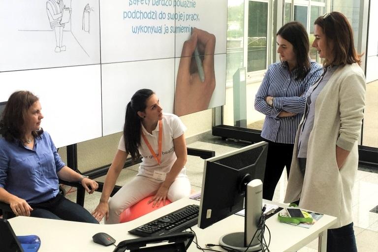 szkolenie zergonomii jako konsultacje wmiejscach pracy